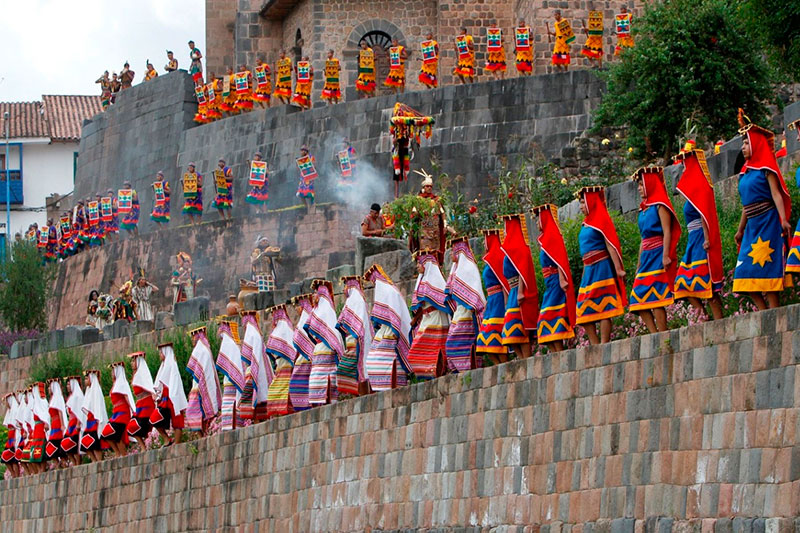 Inti Raymi Fiesta del Sol Cusco Peru Qoricancha