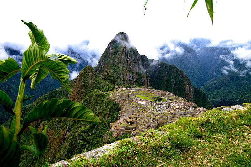 Machu Picchu na rota de Santa María