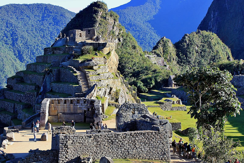 Sacred place Machu Picchu