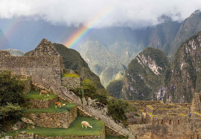 Rain Season Machu Picchu