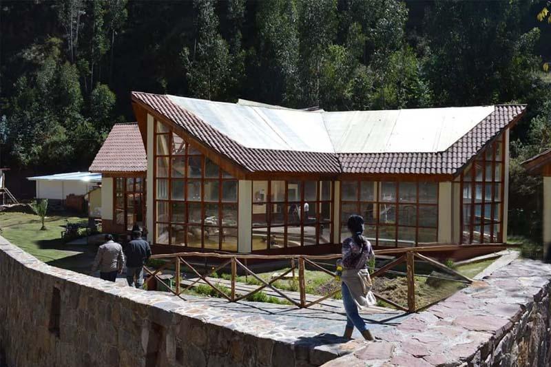 Machacancha thermal baths