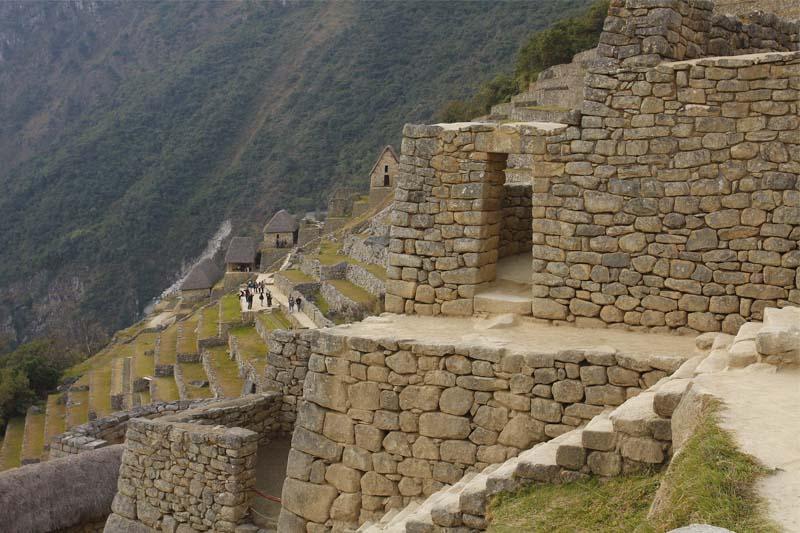 Estructuras incas Machu Picchu