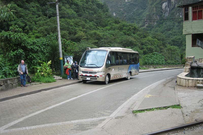 Bus Aguas Calientes Machu Picchu