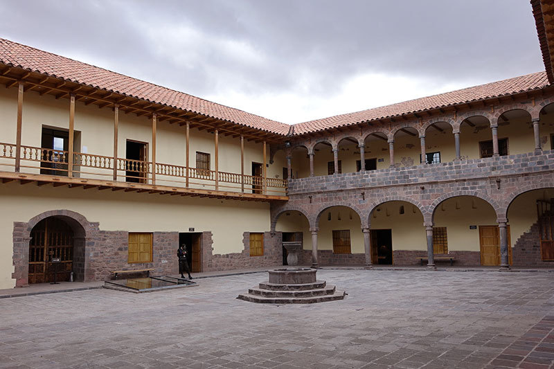 Main Patio of the Casa Concha Museum