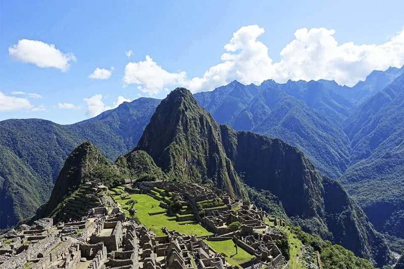 Machu Picchu en Año Nuevo