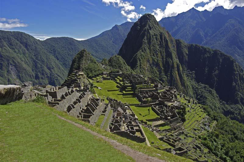 Machu Picchu cálido