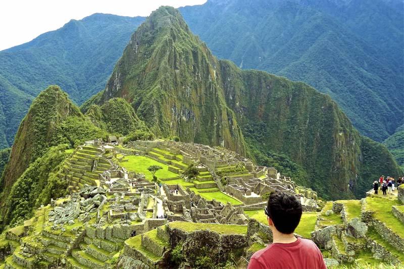 Contemplating Machu Picchu