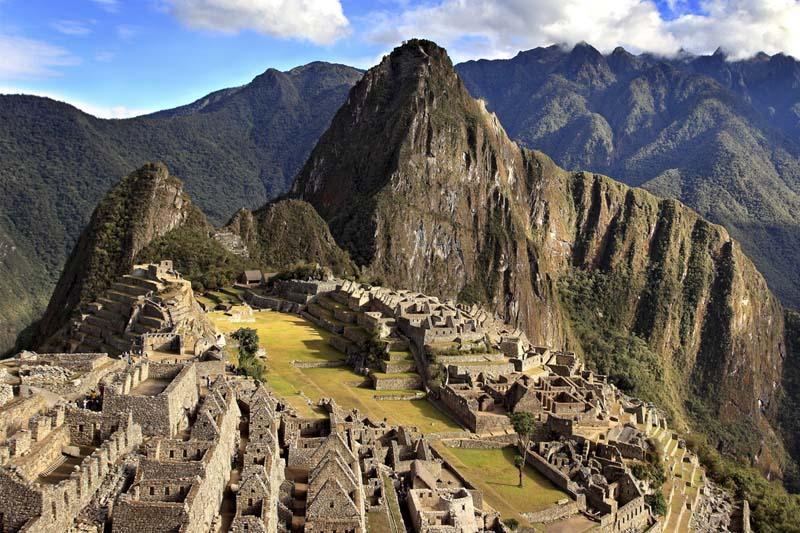 Machu Picchu na época da seca