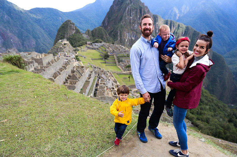 Machu Picchu en Familia