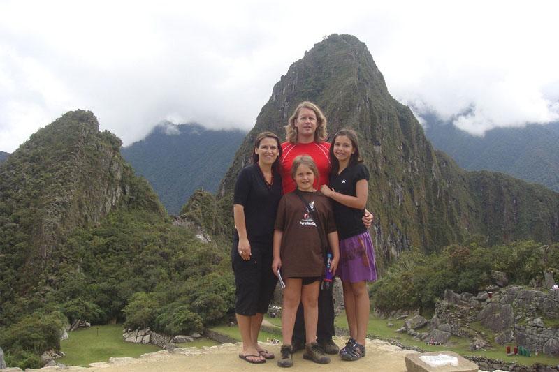 Visitar Machu Picchu con niños