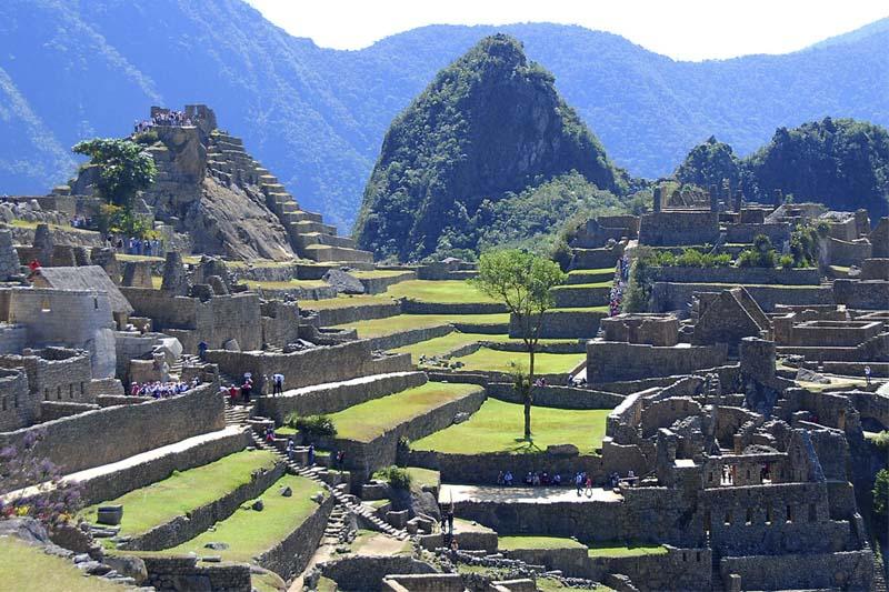 Machu Picchu interior view