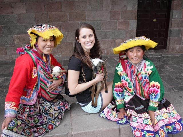 Machu Picchu lenguaje