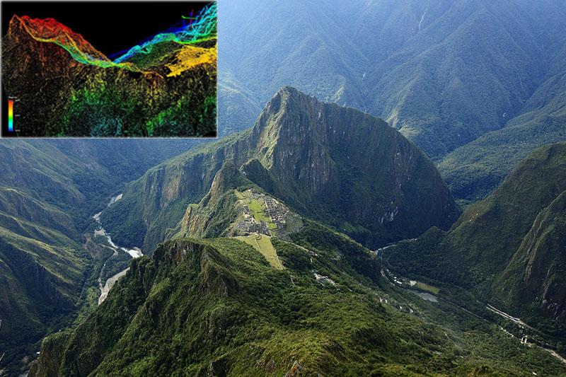 Exploración LIDAR Machu Picchu