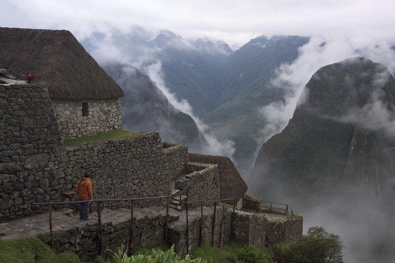 Machu Picchu lluvia