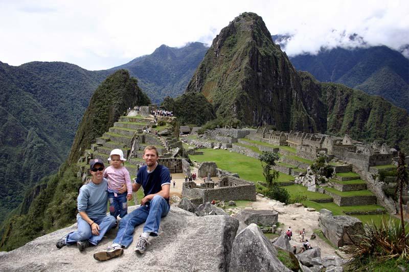 Machu Picchu con niños