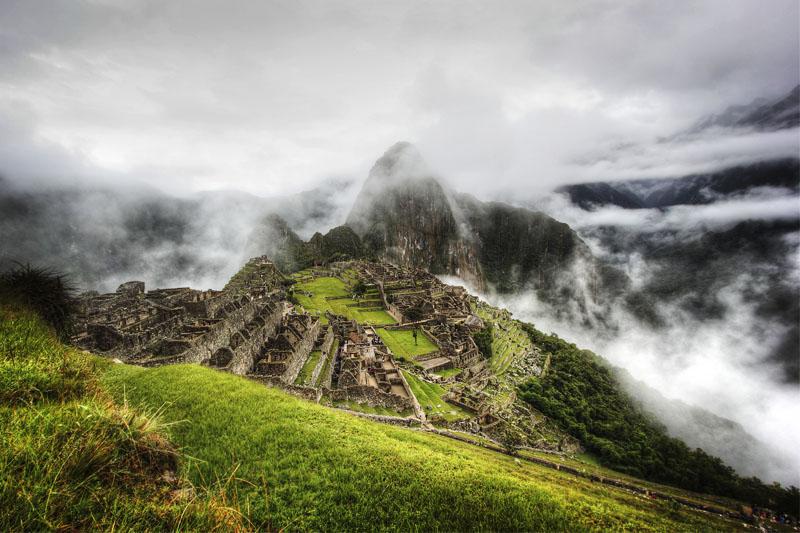 Machu Picchu ciudad en las nubes