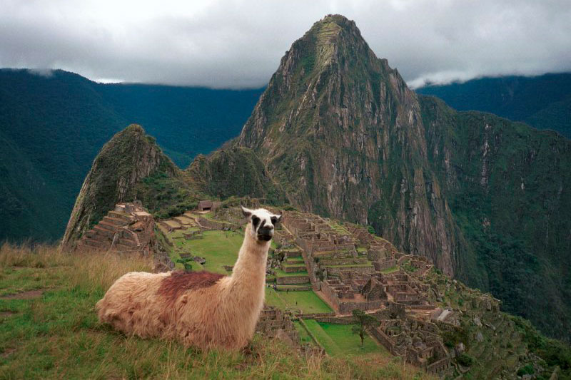 El rostro de Machu Picchu