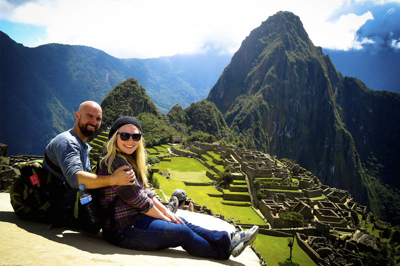Machu Picchu, the most important citadel of the Inca Empire