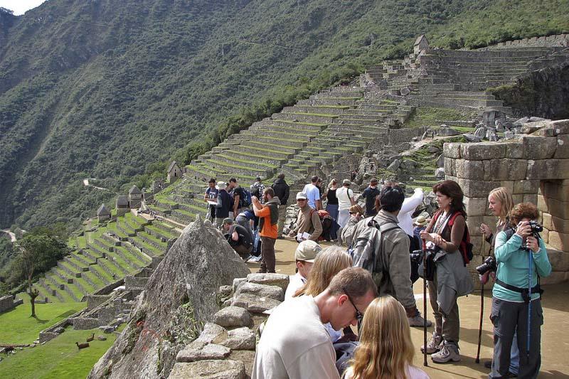 Atardecer Machu Picchu temporada alta