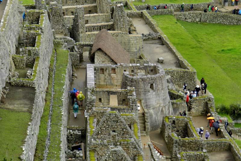 Machu Picchu temporada de lluvias