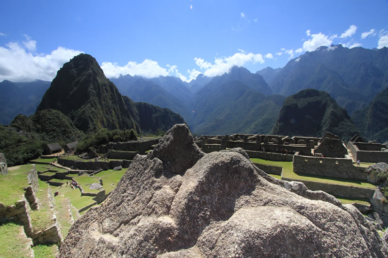 maquetas en Machu Picchu