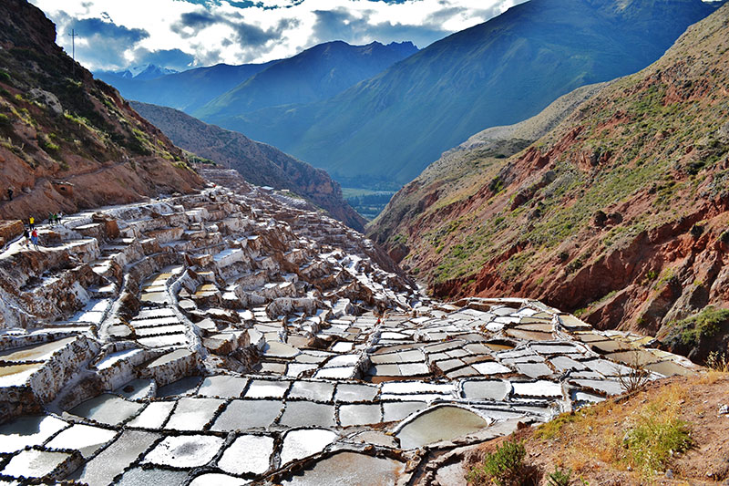 Salt Mines in Maras Sacred Valley of the Incas