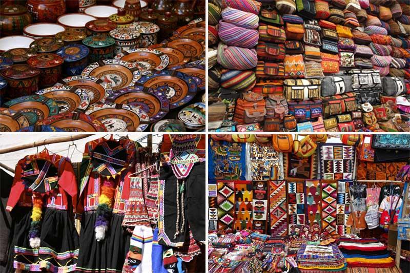 Artesanato, mercado de Pisac