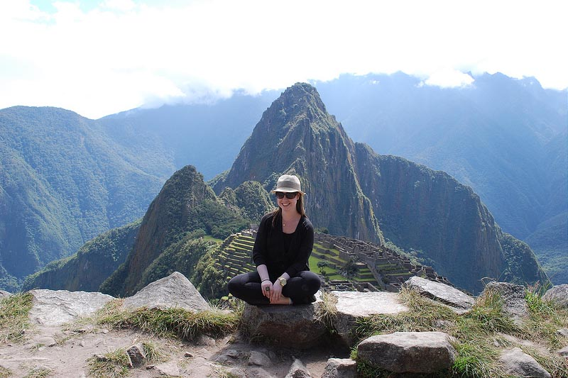 Fabulous view from Machu Picchu Mountain