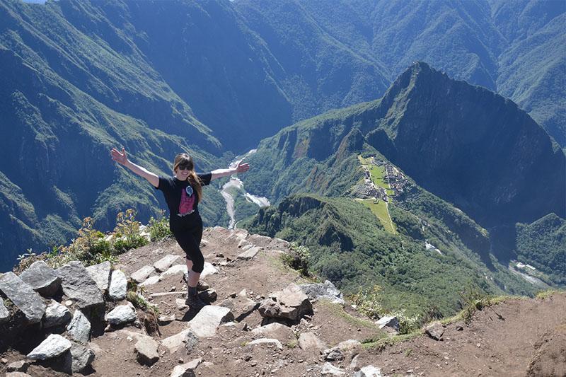 Mountaintop montanha Machu Picchu