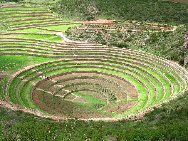 Terrazas concentricas de Moray