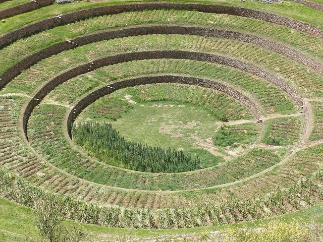 Moray es conciderado como un gran laboratorio agrícola
