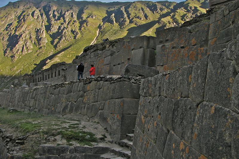 Muros Incas em Ollantaytambo