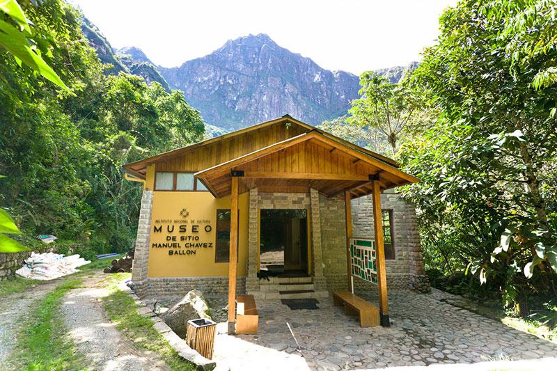 Museo de sitio en Machu Picchu