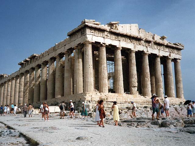 Acrópolis de Atenas - Grecia