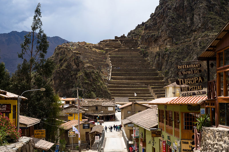 Entrance to Ollantaytambo