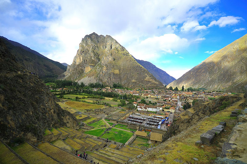Ollantaytambo Machu Picchu