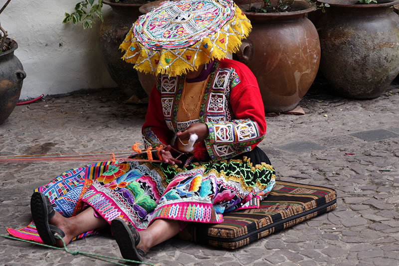 Actividades económicas Machu Picchu
