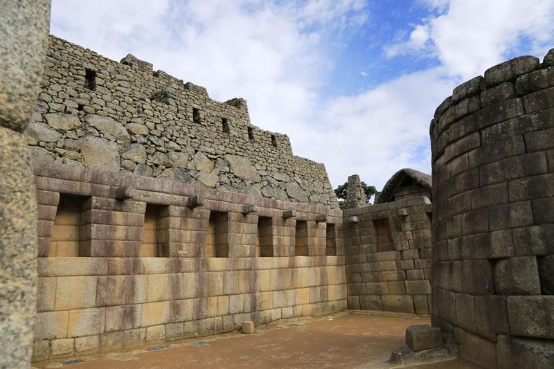 tipos de paredes en Machu Picchu