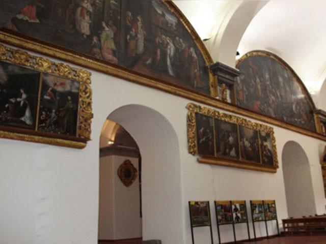 Iglesia de San Sebastián - Pinturas de la escuela cusqueña
