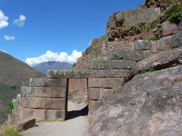 Puerta Inca en Pisac
