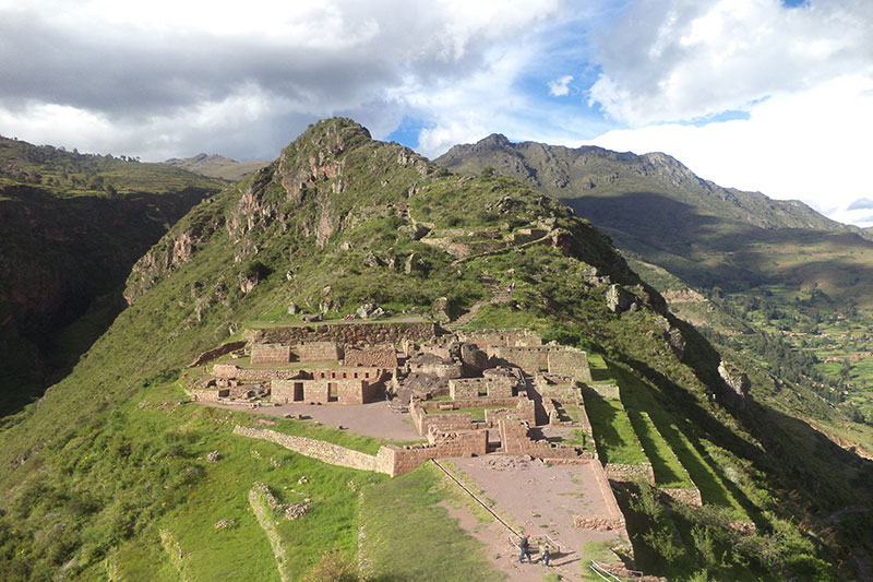 Pisac in the Sacred Valley of the Incas