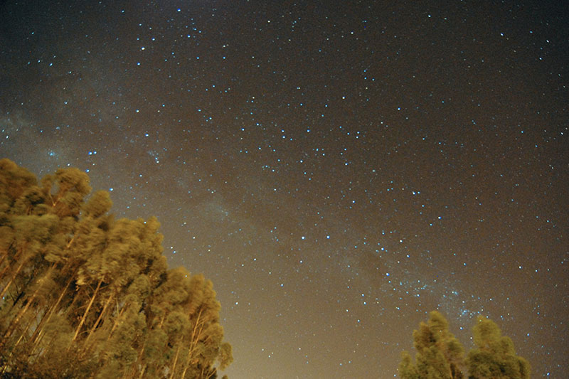 View of the Milky Way Cusco