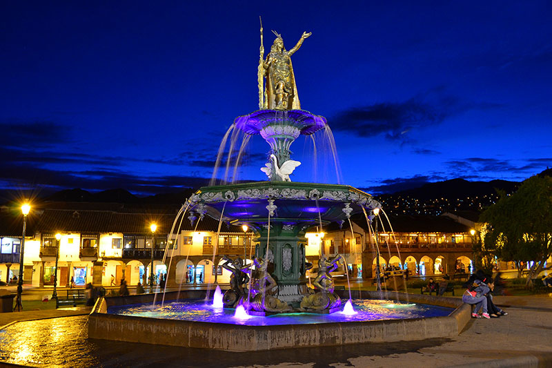 Tribute to the Inca Main Square of the Cusco