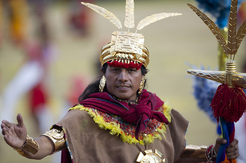 Quechua Inca language