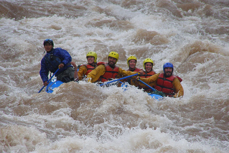 Rafting in Urubamba River Sacred Valley