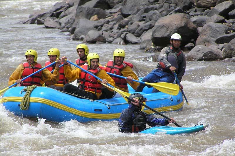 Rafting en el Río Urubamba