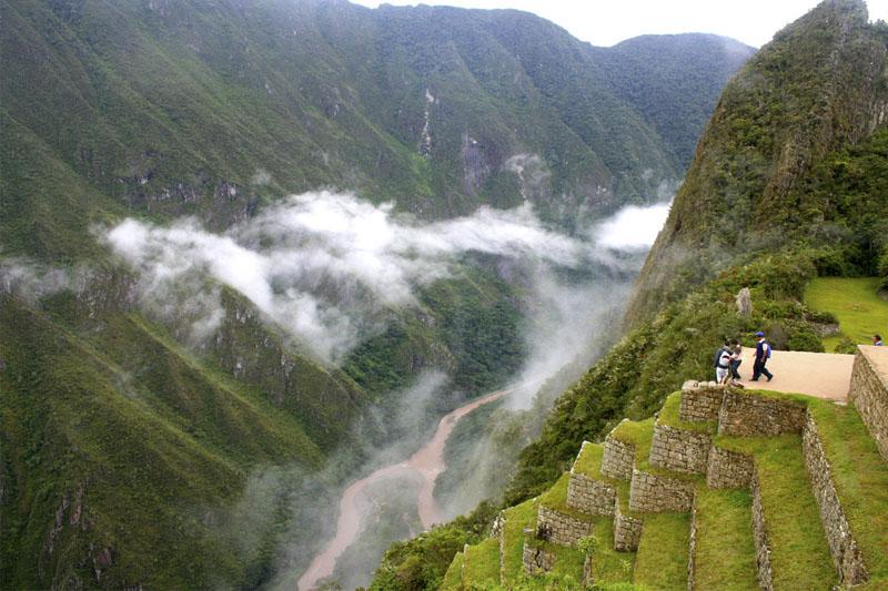 Río Urubamba Machu Picchu