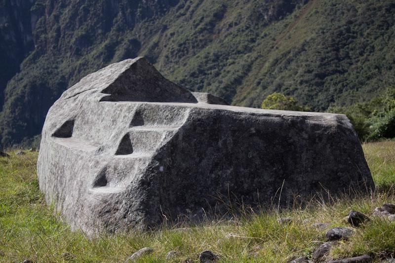 roca funeraria de Machu Picchu