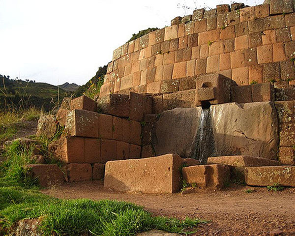 Water Fountain - Pisac