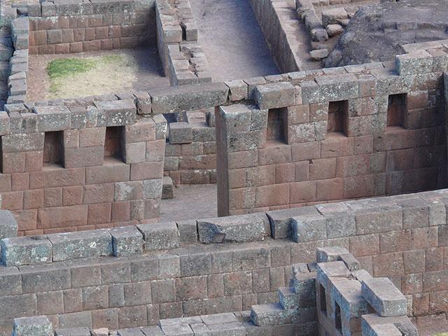 Niche Sector of Intihuatana - Pisac